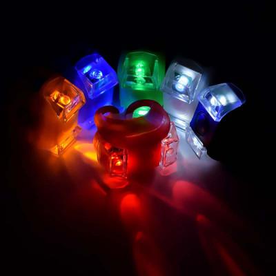 Водонепроницаемый силиконовый велосипедный фонарь
