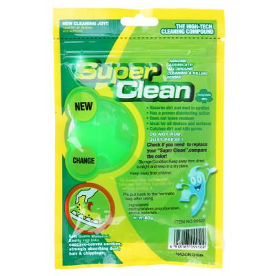 Гелевый очиститель Super Clean для удаления пыли, грязи в труднодоступных местах (80 г)