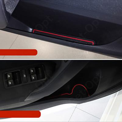 Коврики в подстаканники и в дверные ниши для Volkswagen Polo (2011-2018)