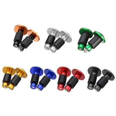 2 шт. Универсальные торцевые ручки для руля мотоцикла, скутера, мопеда