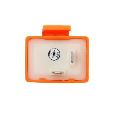 Реле указателей поворотов для LED ламп 2-х контактное 12В с регулировкой частоты моргания