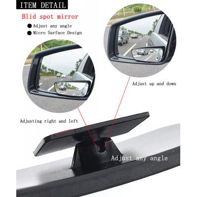 2 шт. дополнительные сферические зеркала мертвой зоны на штатные боковые зеркала автомобиля (комплект)