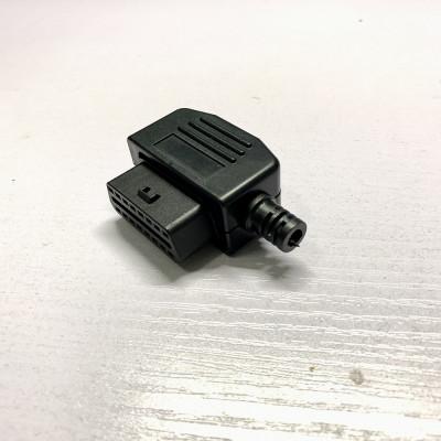 1 шт. Диагностический штекер разъем OBD2 16-pin (мама)