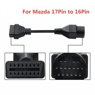 Переходник Mazda 17-pin на OBD2