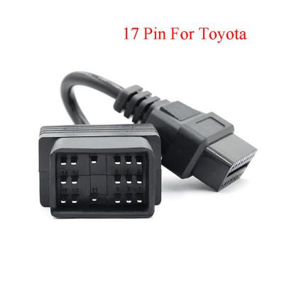 Переходник Toyota 17-pin - OBD2 16-pin