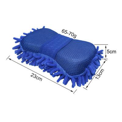 Губка из микрофибры для мытья автомобиля