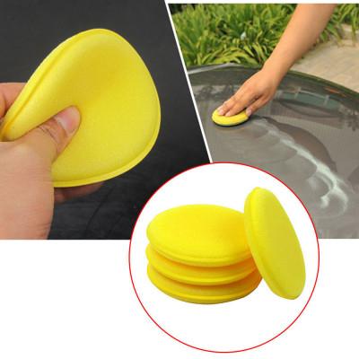 12 шт. желтый губчатый аппликатор для нанесения воска