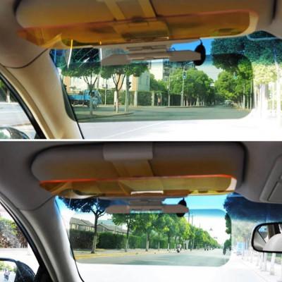 Солнцезащитный антибликовый козырек для автомобиля день/ночь