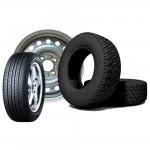 Колеса, шины и запчасти
