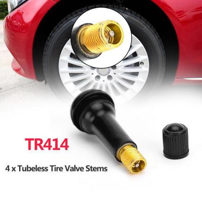 4 шт. вентиль для бескамерных шин TR414