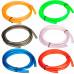 Универсальный цветной топливный шланг для мотоцикла, скутера, мопеда, квадроцикла 8мм (1 метр)
