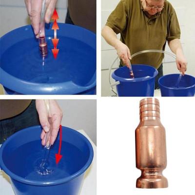 Медный сифон для перекачки жидкостей