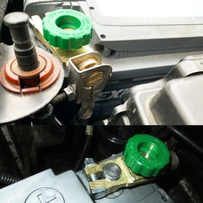 Универсальная аккумуляторная клемма с винтовым зажимом (с выключателем массы)