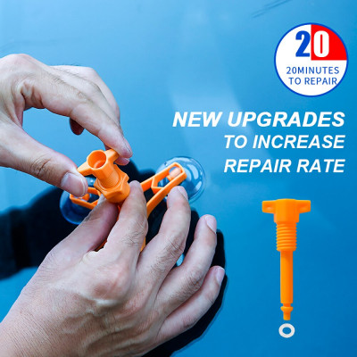 Набор для ремонта сколов и трещин автостекол Windshield Repair Kit